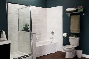 Bath and shower renovation